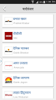 screenshot of Daily Hindi News Papers