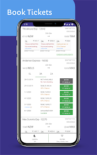 Indian Railway IRCTC Ticket Booking Live TrainApp Latest Version Download For Android 2