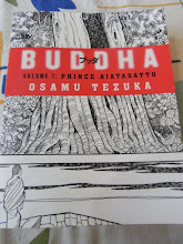 """Photo: Have you ever read this excellent comic series """"Buddha"""" written by a Japanese cartoonist late Osamu Tezuka (http://en.wikipedia.org/wiki/Osamu_Tezuka)? We can purchase from any online bookshop in India (http://www.amazon.in/gp/product/000725167X/ref=junglee&tag=juamz1-21). One can be easily and greatly familiar with the birth of Buddhism and Buddha's life. While I surely own all titles, I am gifting for my nieces in India and nephew in Japan one by one. 26th September updated (日本語はこちら♫) -http://jp.asksiddhi.in/daily_detail.php?id=313"""