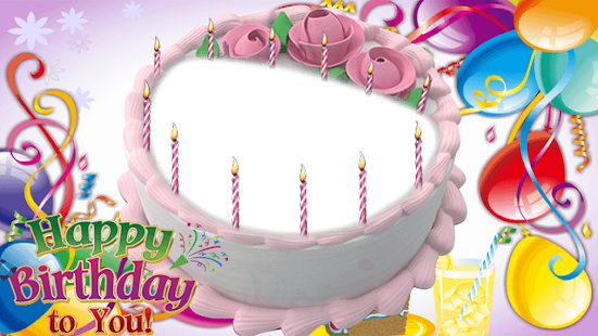 Birthday Cake Photo Frame - Apps on Google Play