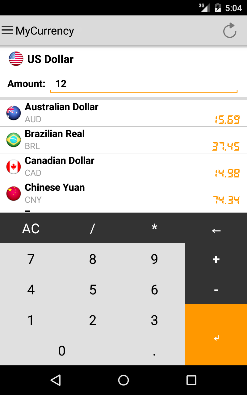 My Currency Pro - Converter Screenshot 7