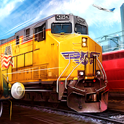 Real Train Driving Simulator-Train Games