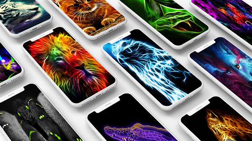 Neon Animals Wallpaper 1.0 screenshots 1