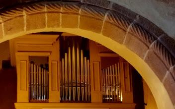 Photo: Takto vypadají varhany, jejichž zvuk dnes testovali diecezní organolog p. T. Svoboda a varhaník z břevnovského kláštera p Čihák