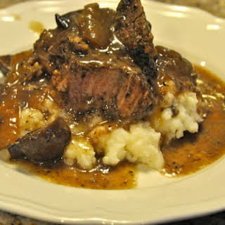 Crock Pot Beef Roast with Mushrooms and Onions.