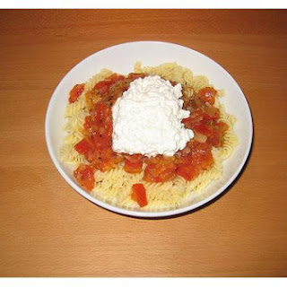 Pasta and Cottage Cheese
