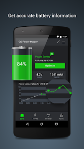 GO Battery Saver &Power Widget v5.1