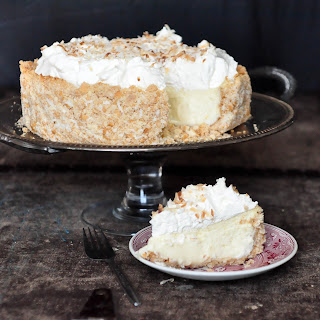 Coconut Cheesecake.