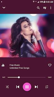 Free Music: miniatura de captura de pantalla