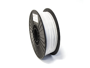 White PRO Series PETG Filament - 1.75mm (1lb)