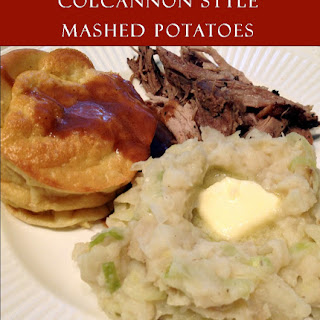 Colcannon Style Mashed Potatoes