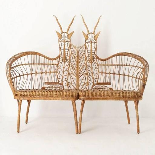 藤椅设计灵感