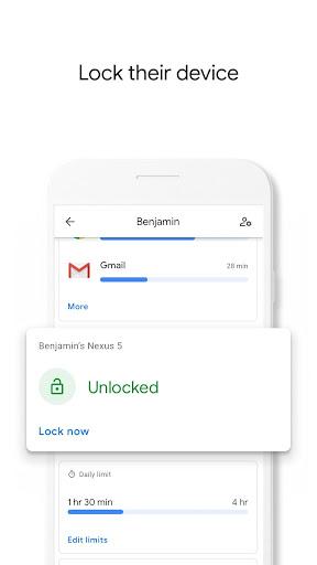 Google Family Link screenshot 5