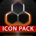 GLOW ORANGE icon pack HD 3D icon