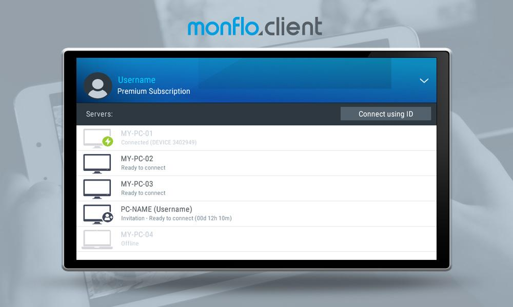 Monflo - Remote PC Access- screenshot