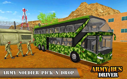 Army Bus Driving 2019 - Military Coach Transporter 1.0.8 screenshots 7