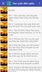 Tam quốc diễn nghĩa truyện offline - náhled
