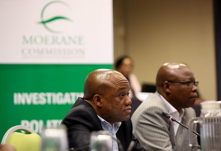 Sihle Zikalala at Moerane Commission Picture: Thuli Dlamini