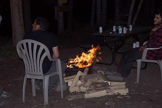 Photo: Lagerfeuerbekanntschaft in Carmacks