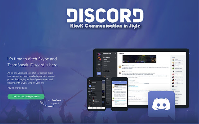 Discord Kiosk