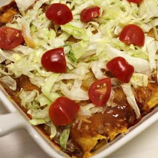 Quick and Easy Chicken Enchiladas