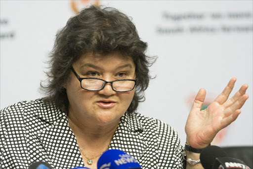 Public Enterprises Minister Lynne Brown. Picture: TREVOR SAMSON