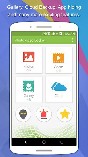 Photo Video Gallery Locker - Hide Videos screenshot 1