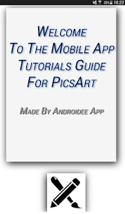 Tutorials Guide for PicsArt - náhled