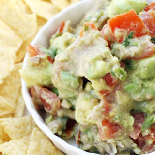 Tuna and Avocado Salsa.