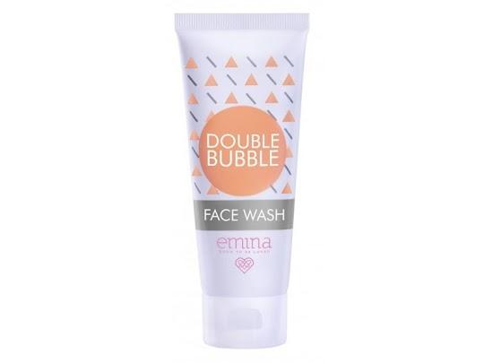 Double Bubble Face Wash Sabun Cair EMINA melembabkan kulit membersihkan minyak mencerahkan wajah