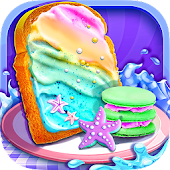 Mermaid Unicorn Cupcake Bakery Shop Cooking Game