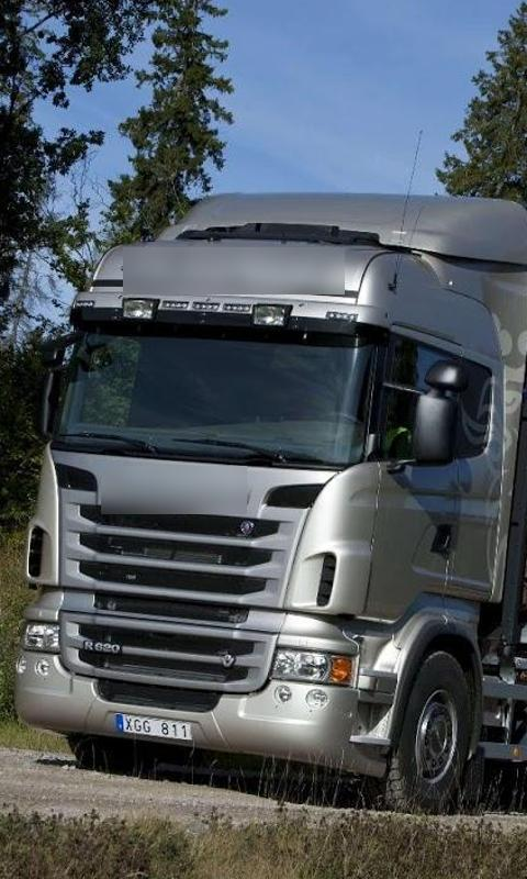 Wallpapers Scania Trucks Screenshot