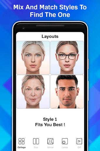 Face Age Editor App screenshot 1