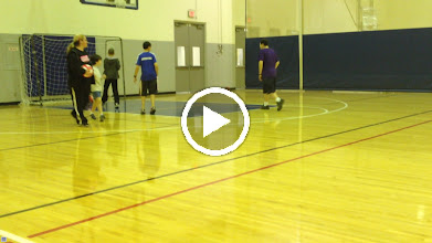 Video: TOPSoccer practice and drills with Josh Roberts as Coach & extra volunteers from Houston Express Soccer
