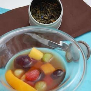 Exotic Fruit Salad in a Tea Bath