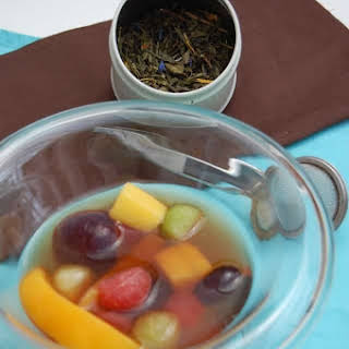 Exotic Fruit Salad in a Tea Bath.