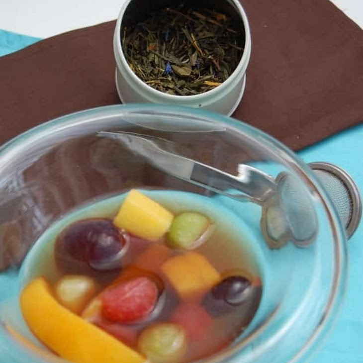 Exotic Fruit Salad in a Tea Bath Recipe