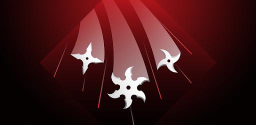 Throw your spinning ninja stars at the incoming blocks