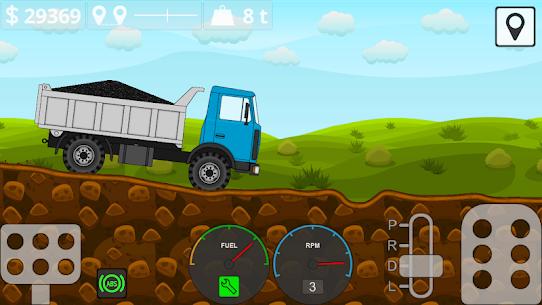 Mini Trucker 2D offroad truck simulator MOD (Unlimited Money) 5