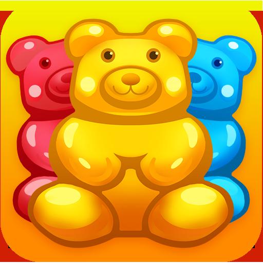 Gummy bear frenzy - match 3
