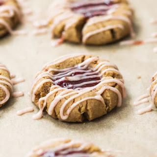 Healthy Raspberry Thumbprint Cookies Recipe
