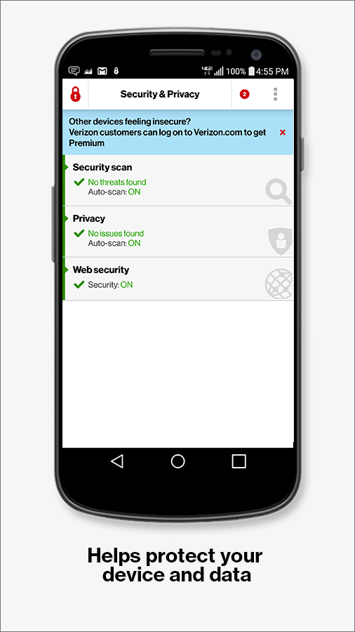 Security &  Privacy- screenshot