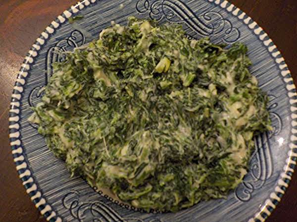 Creamed (cheese) Spinach Recipe