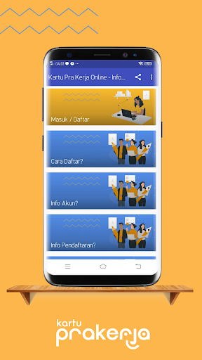 2020 Kartu Pra Kerja Online Info Dan Cara Daftar Android App Download Latest