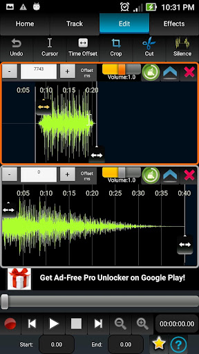 AudioDroid : Audio Mix Studio 2.8.3 screenshots 4