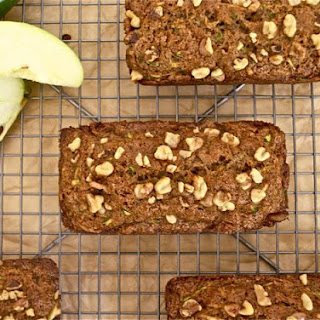 Healthier Zucchini Apple Bread
