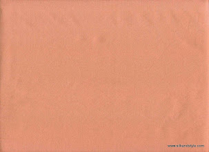 Photo: Mysore 16 - Matching Plain Silk Taffetta - Coral