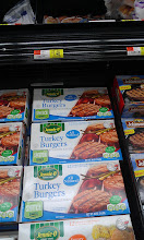 Photo: I thought the Turkey Burgers looked great and would be an easy item for the food bank to keep frozen to give out to the families in need.