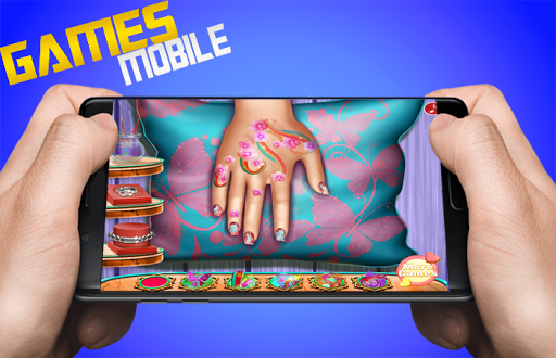 Floral Manicure game - girls Nails games 1.0.0 screenshots 1