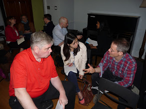 Photo: Day 1 - at Tom`s workshop